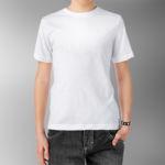 Детская футболка хлопок белая