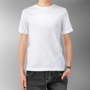 Детская футболка хлопок белая фото