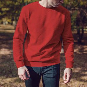 Мужской свитшот красный фото