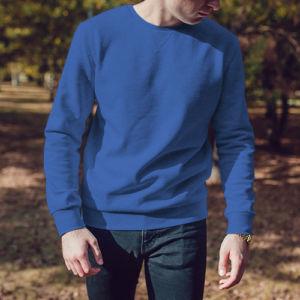 Мужской свитшот синий фото