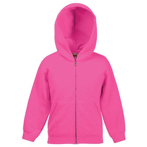 3eb2b319 Детская толстовка на молнии розовая - купить или заказать печать на ...