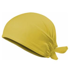 Бандана желтая фото