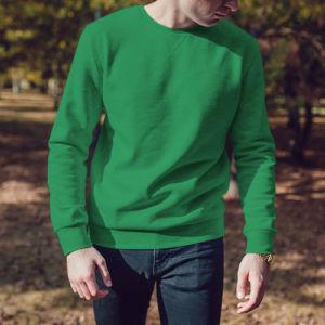 Мужской свитшот зеленый фото