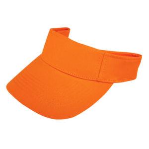 Козырек оранжевый фото