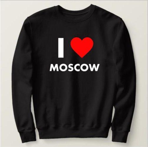 Печать надписей на свитшотах в Москве пример 1
