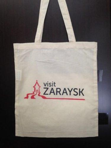 Печать логотипа на сумках в Москве пример 1