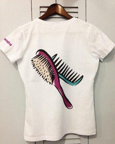Печать изображений на футболках и одежде в Москве пример 2