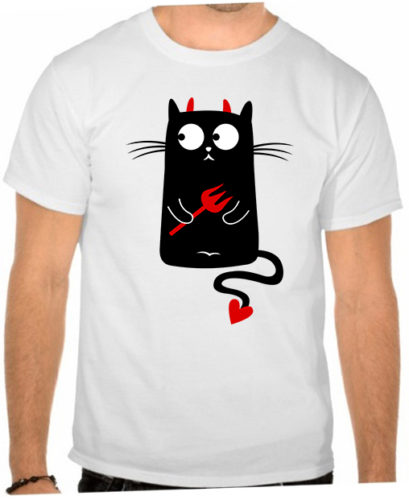 Парные футболки на заказ в Москве пример 4