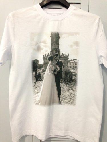 Парные футболки на заказ в Москве пример 2