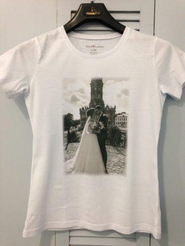 Парные футболки на заказ в Москве пример 1