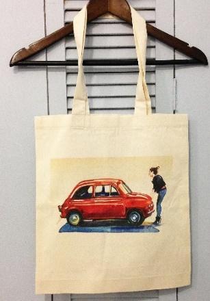 Печать на сумках в Москве пример 2