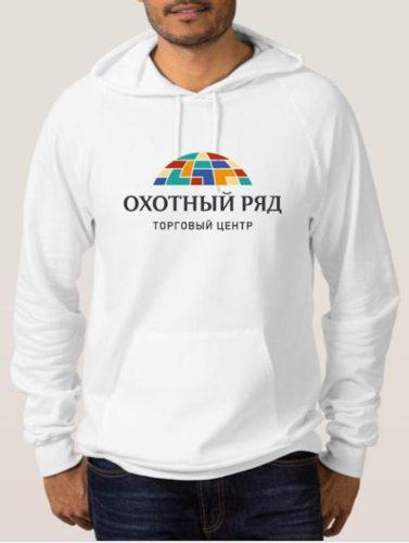 Печать на толстовках в Москве пример 1